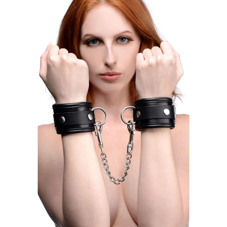 Isabella Sinclaire Premium Leather Wrist Cuffs