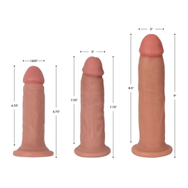 Jock Light Bareskin Dildo - 7 Inch