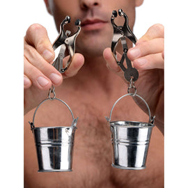 Jugs Nipple Clamps with Buckets