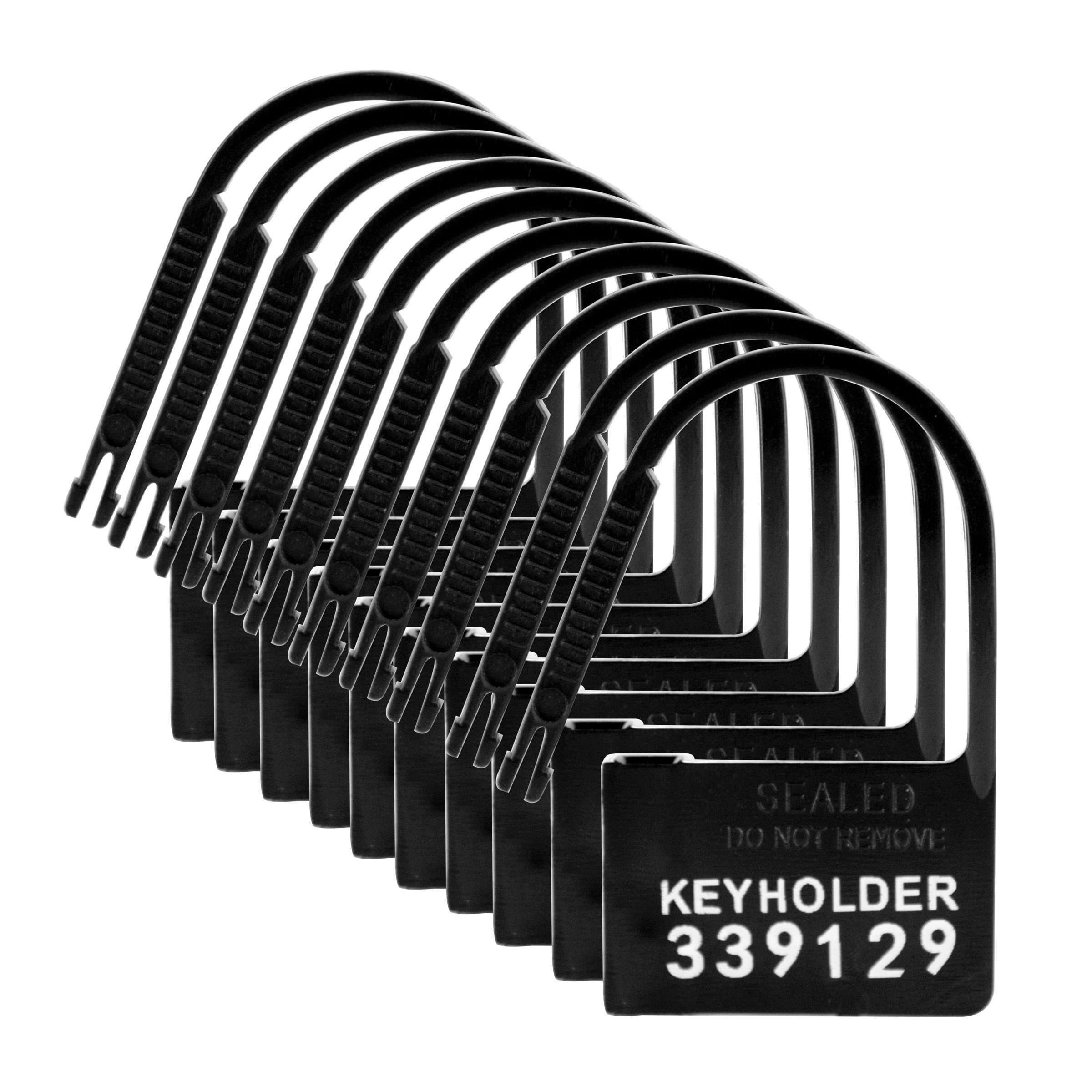 Keyholder 10 Pack Numbered Plastic Chastity Locks