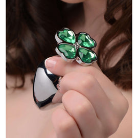 Lucky Clover Gem Anal Plug - Medium