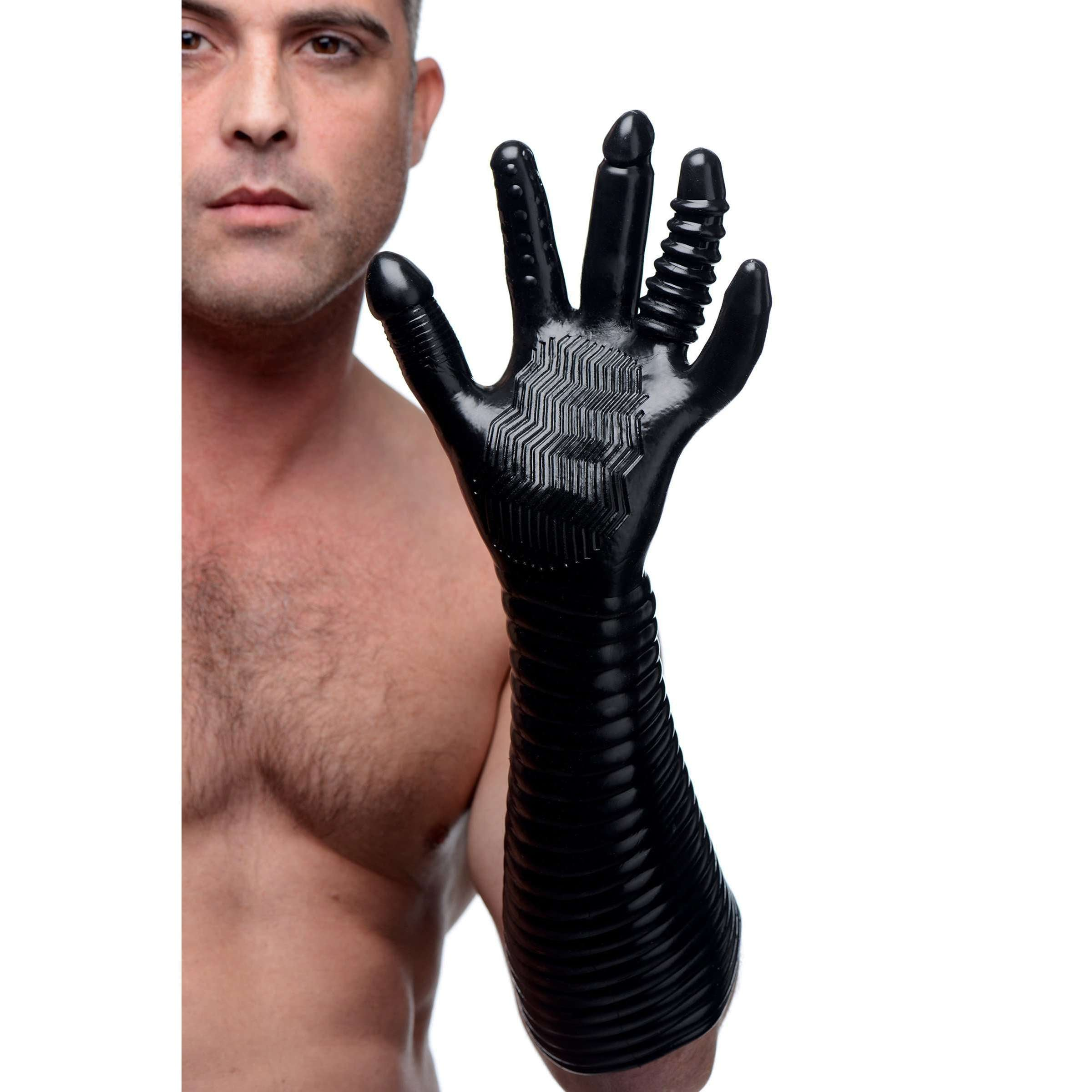 Pleasure Fister Textured Fisting Glove