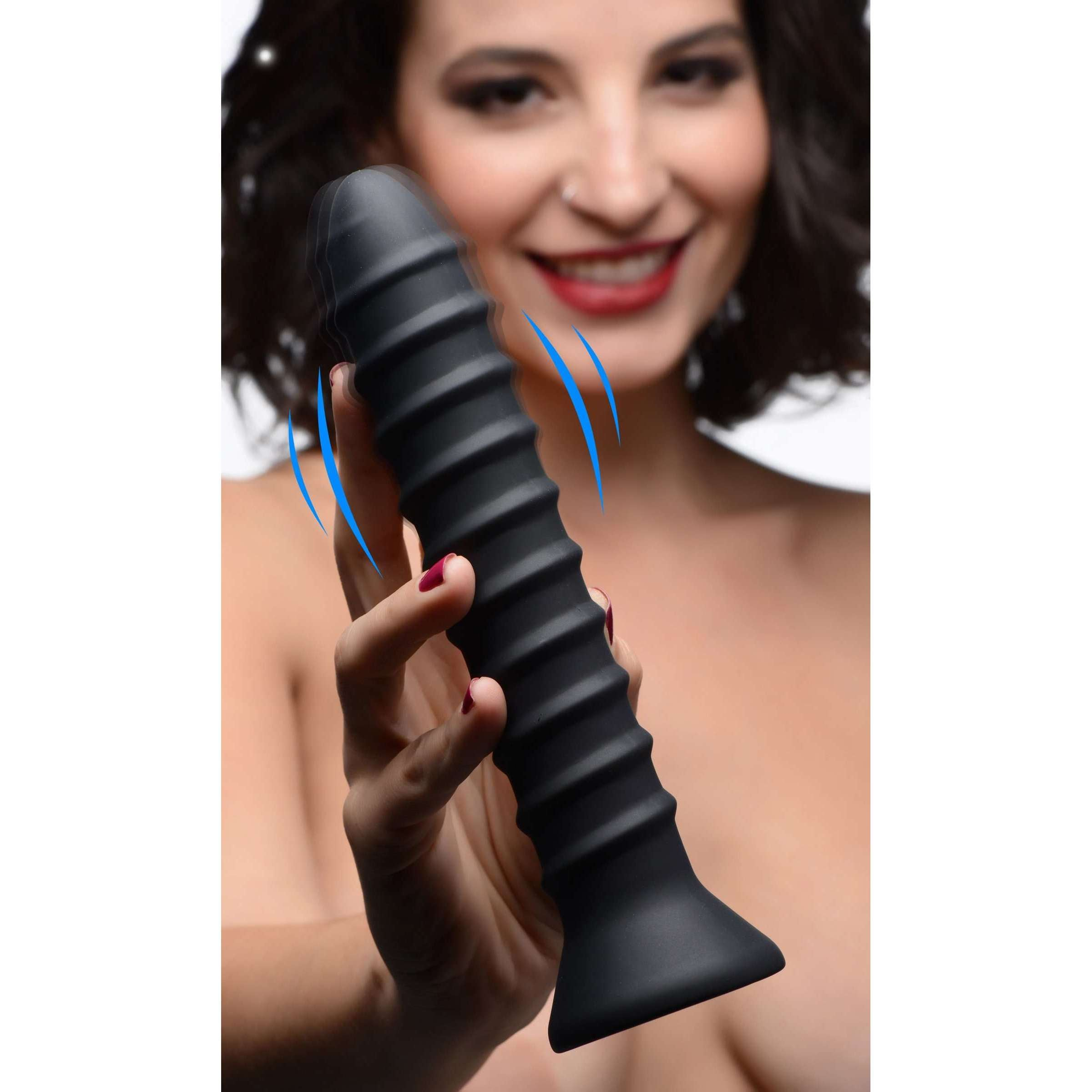 Power Screw 10X Spiral Silicone Vibrator