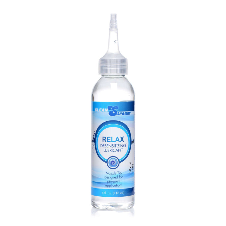 Relax Desensitizing Lubricant With Nozzle Tip - 4 oz.