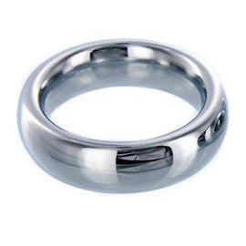 Sarge Stainless Steel Cock Ring - 2 Inches
