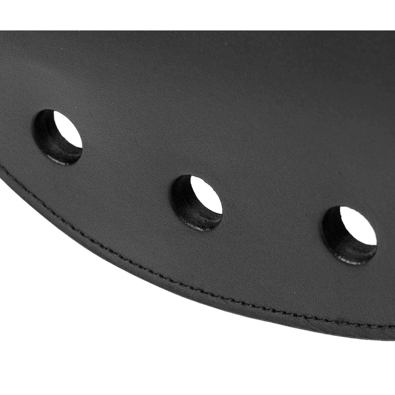 Strict Leather Rounded Paddle with Holes