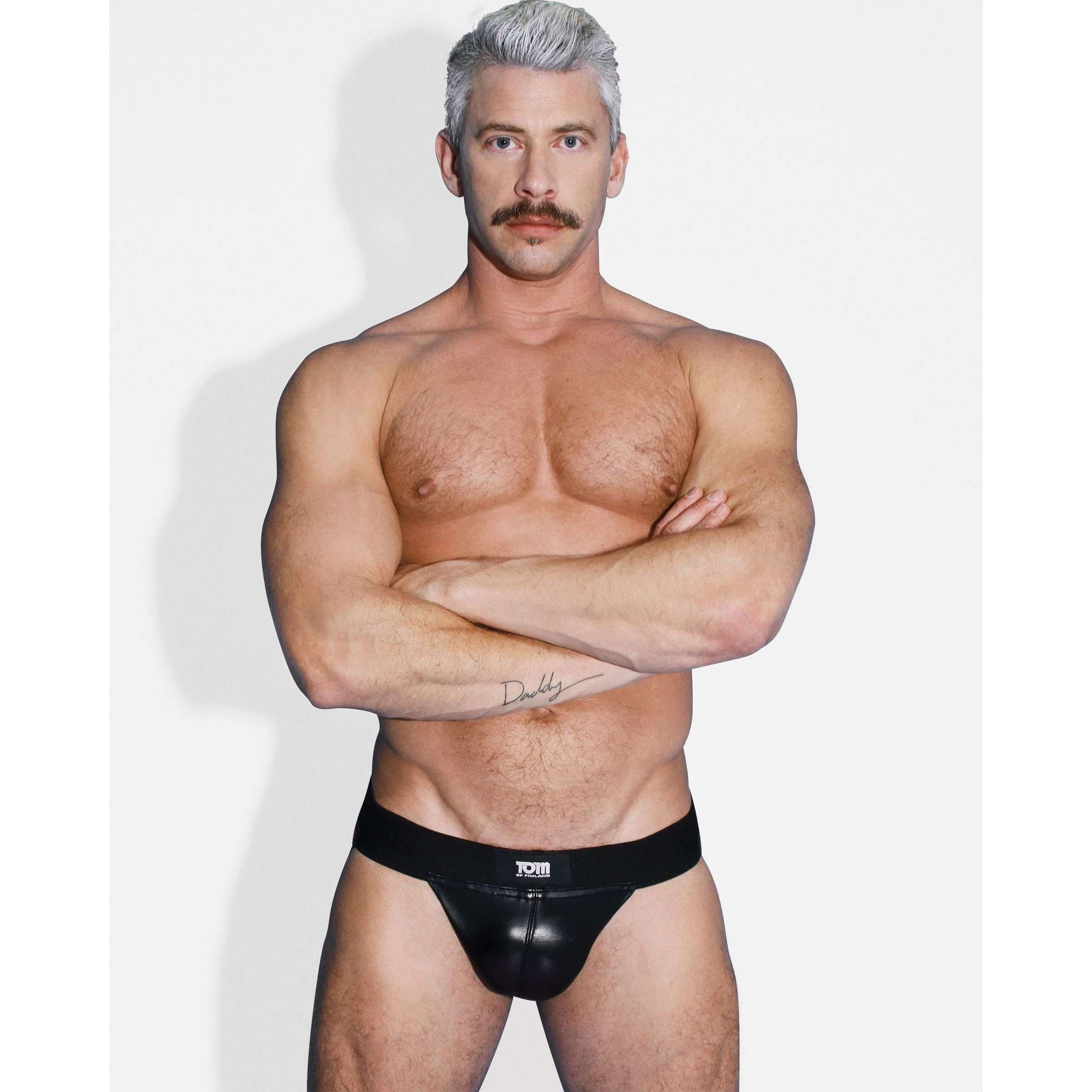Tom of Finland Leather Jock Strap- ML