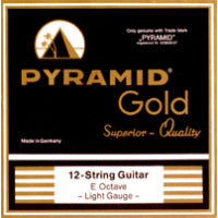 Pyramid Gold 12 String Set