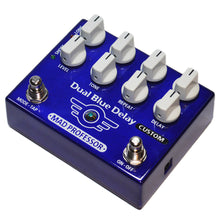 Lataa kuva Galleria-katseluun, Mad Professor Dual Blue Delay Custom with Deep Mod