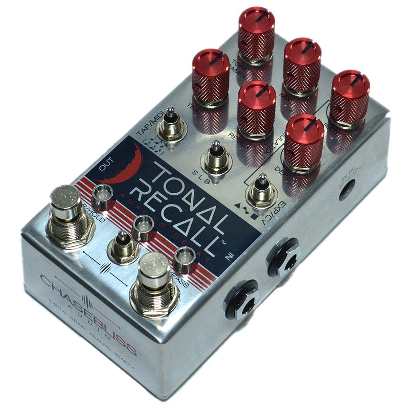 Chase Bliss Tonal Recall Delay Red Knob Mod