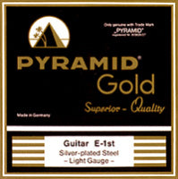Pyramid Gold Flatwound Strings