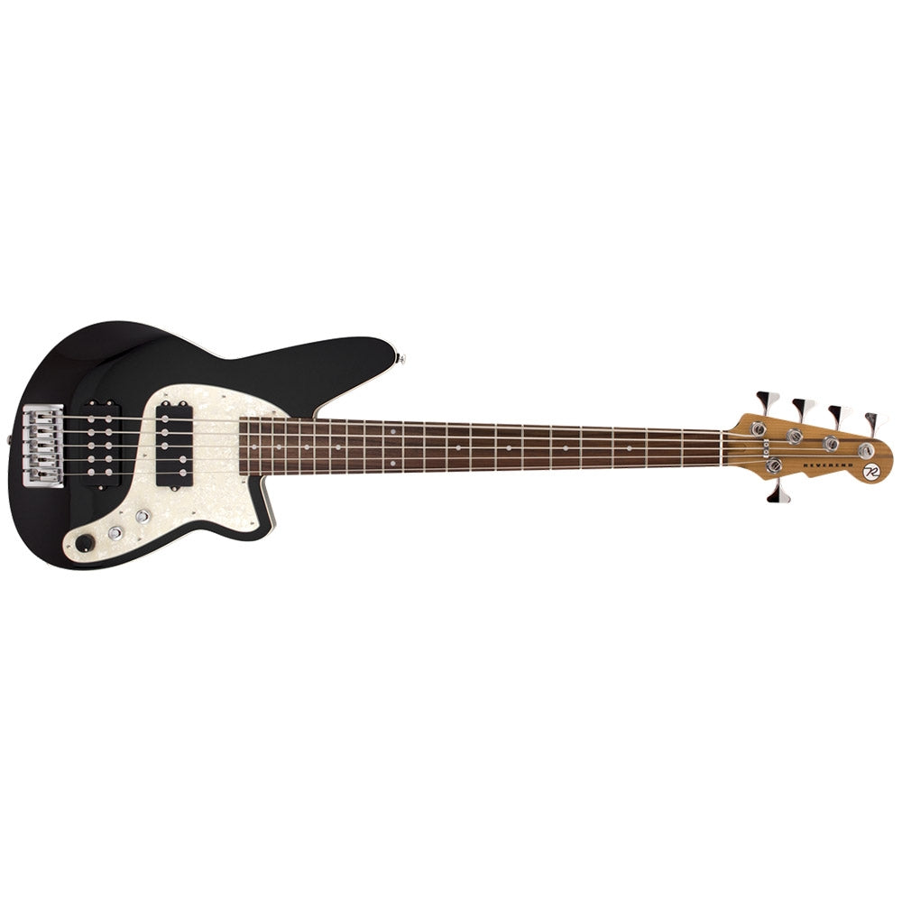 Reverend Mercalli 5 Black Bass