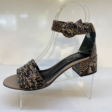 Load image into Gallery viewer, Leopard Ankle Strap Sandal