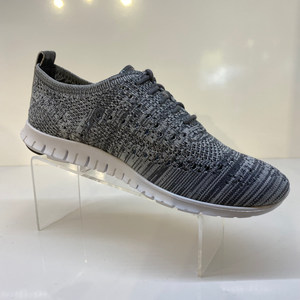 Ironstone Grey Heather Knit