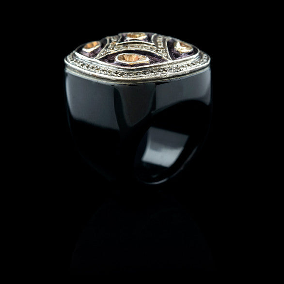 VALIANT BLACK ONYX RING