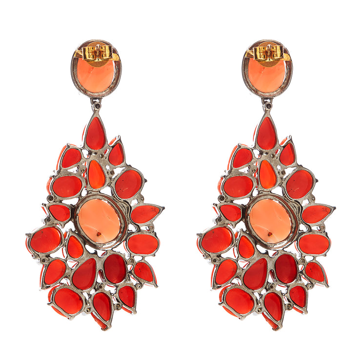 BELLISSIMO CORAL EARRINGS