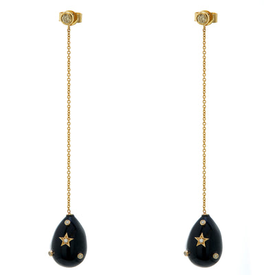 BLACK ONYX GALAXY DROPS. Currently out of stock.