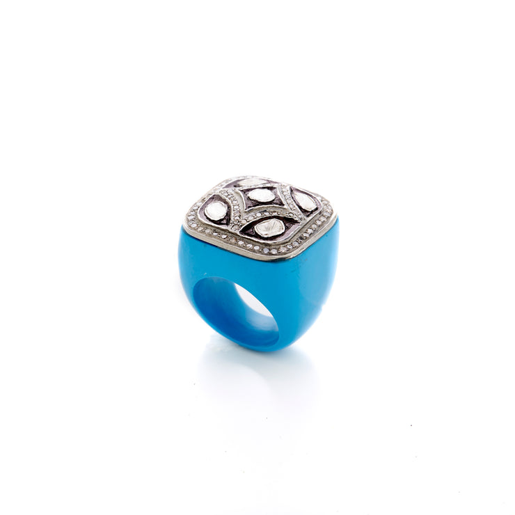 VALIANT RING TURQUOISE