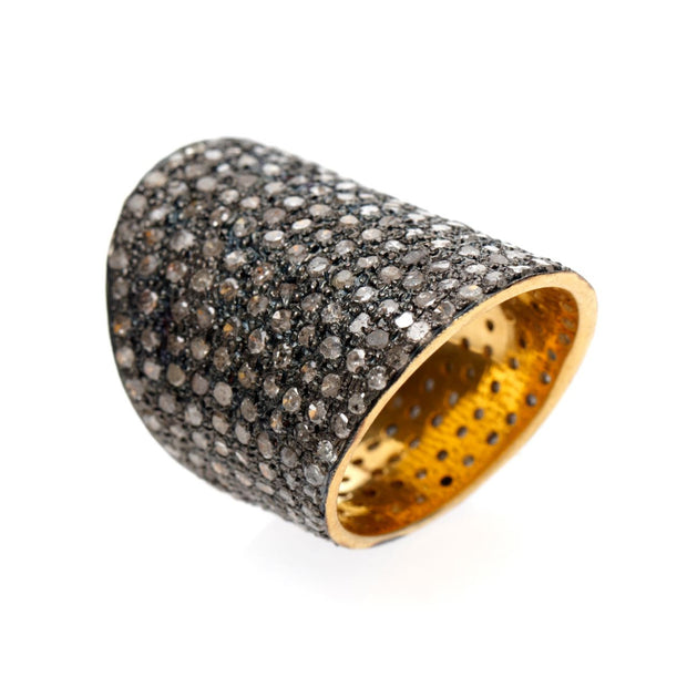 PAVE DIAMOND WRAP AROUND RING