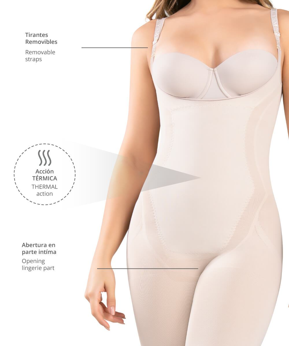 Seamless Thermal Action Weight Loss Hourglass Bodysuit