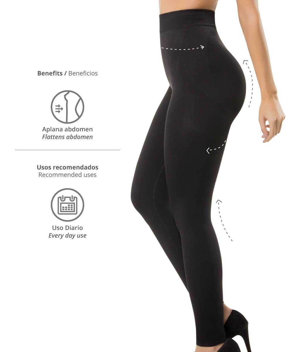 3108 - Seamless Abdomen Control Butt-Lifter Leggings