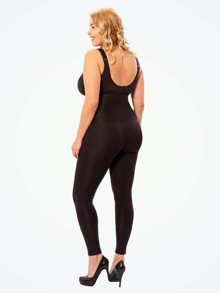 Shapey™ - High Waisted Shaping Leggings - Curvedgirls
