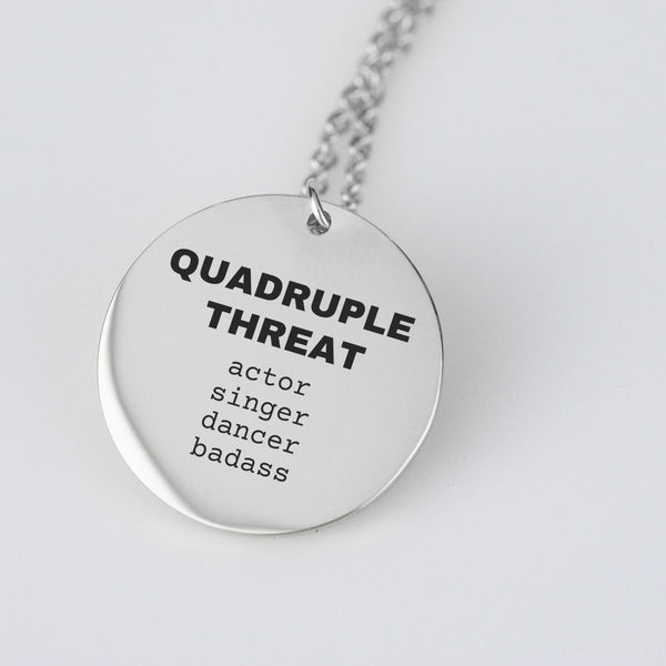 Quadruple Threat pendant