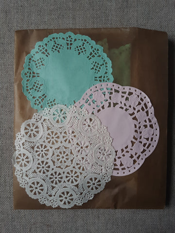 Doily Booklets, Set of 12- SS