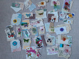 Butterflies and Flowers Snippets-set of 30- Ss