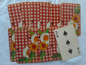 Picnic Playing Cards- Set of 12- SS