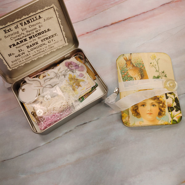 Mini Journal & Goodies in a Tin - Tami