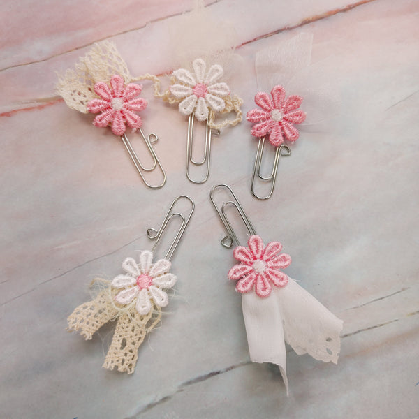 Lace & Applique Paperclips - Tami
