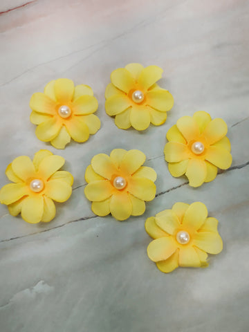 Yellow Orange Flowers - LZ