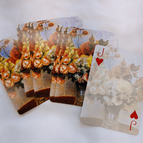 Bouquet Playing Cards set of 10 - LZ