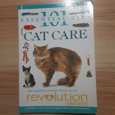 Cat Care Tips Books- 1995 copyright- SS