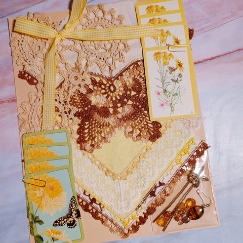 Yellow & Brown Linen Pack by Elizabeth Knapp