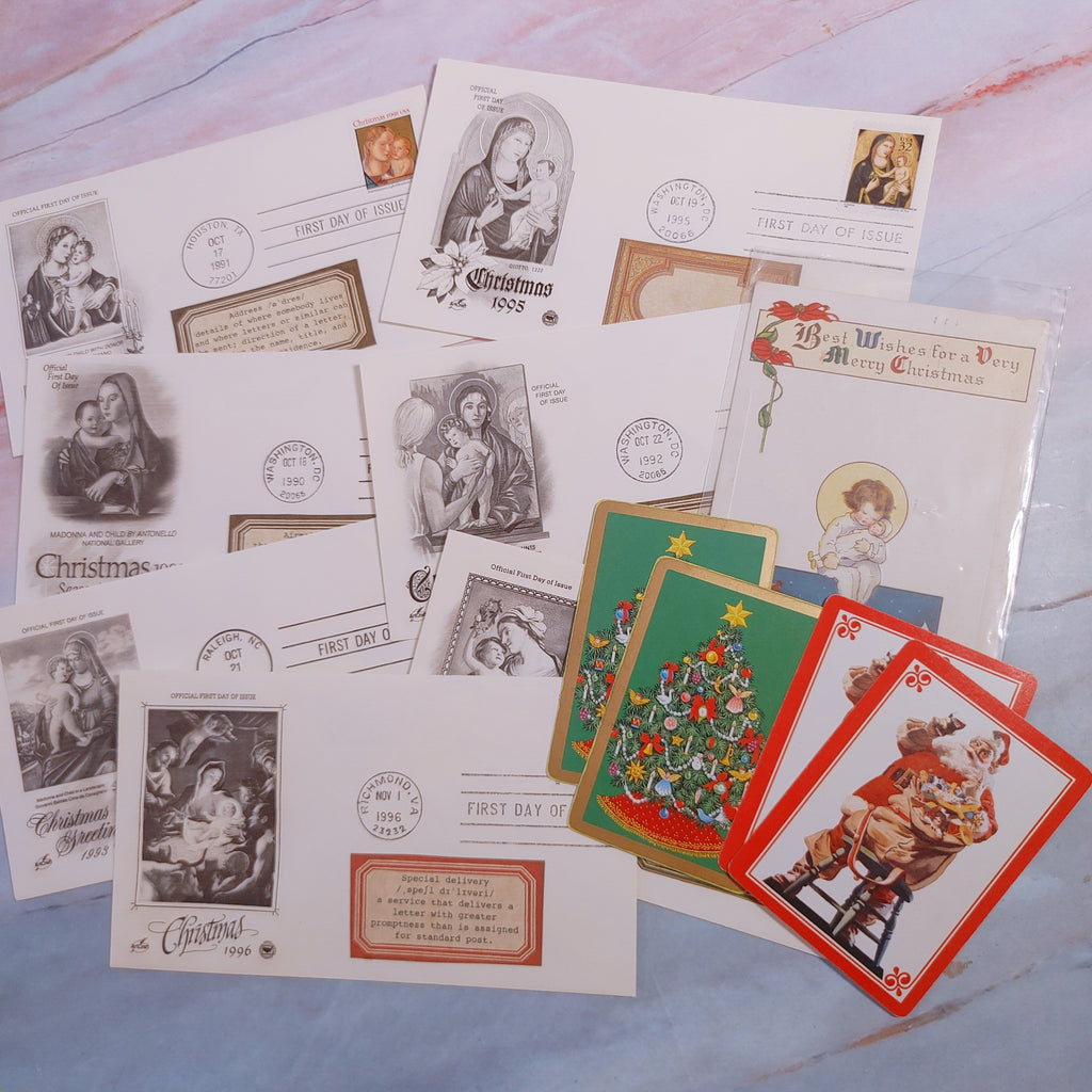 Christmas Ephemera Collection - Cheri