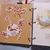 Snowman Ring Bound Junk Journal - Barb H.
