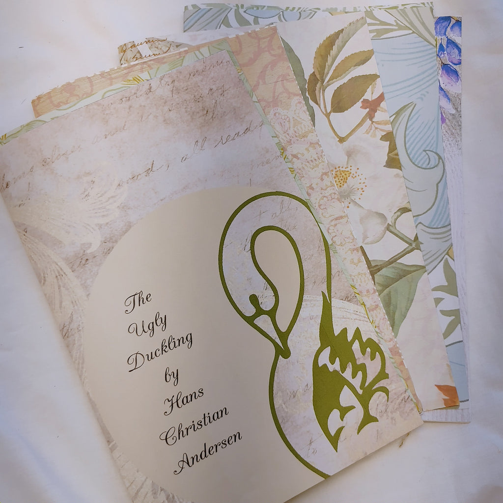 Ugly Duckling Junk Journal Signature- LZ