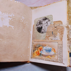 Tea at the Quilt Bee Junk Journal by Donna Young (SeptCh)
