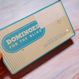 Dominos for the Blind Tin with Dominos - APC