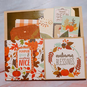 Stuffed Autumn Double Sided Pocket - Tami