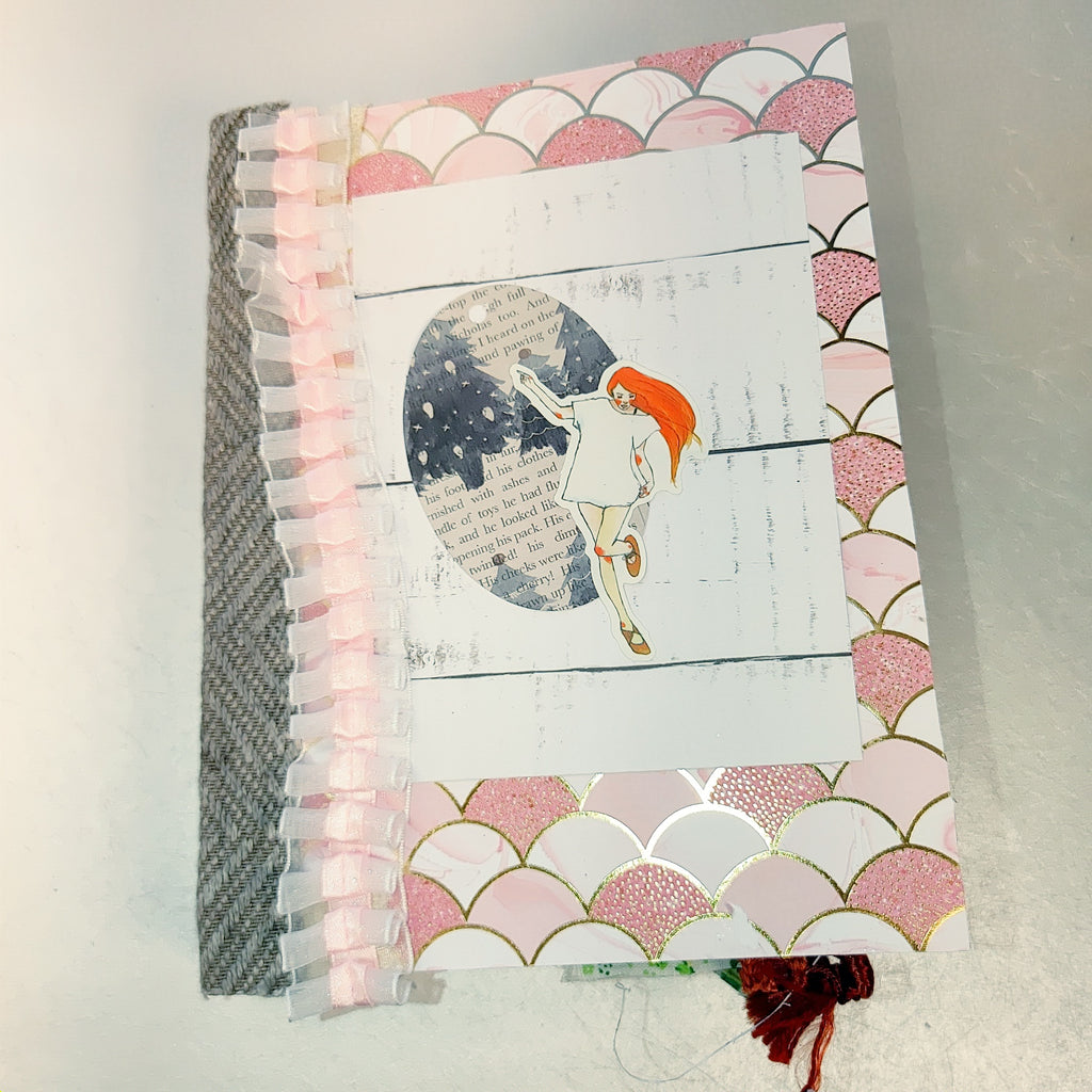 Pink Christmas Junk Journal by Yesenia Diaz (OctCh)