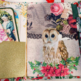 The Golden Birds Junk Journal by Ann from Sweden (OctCh)