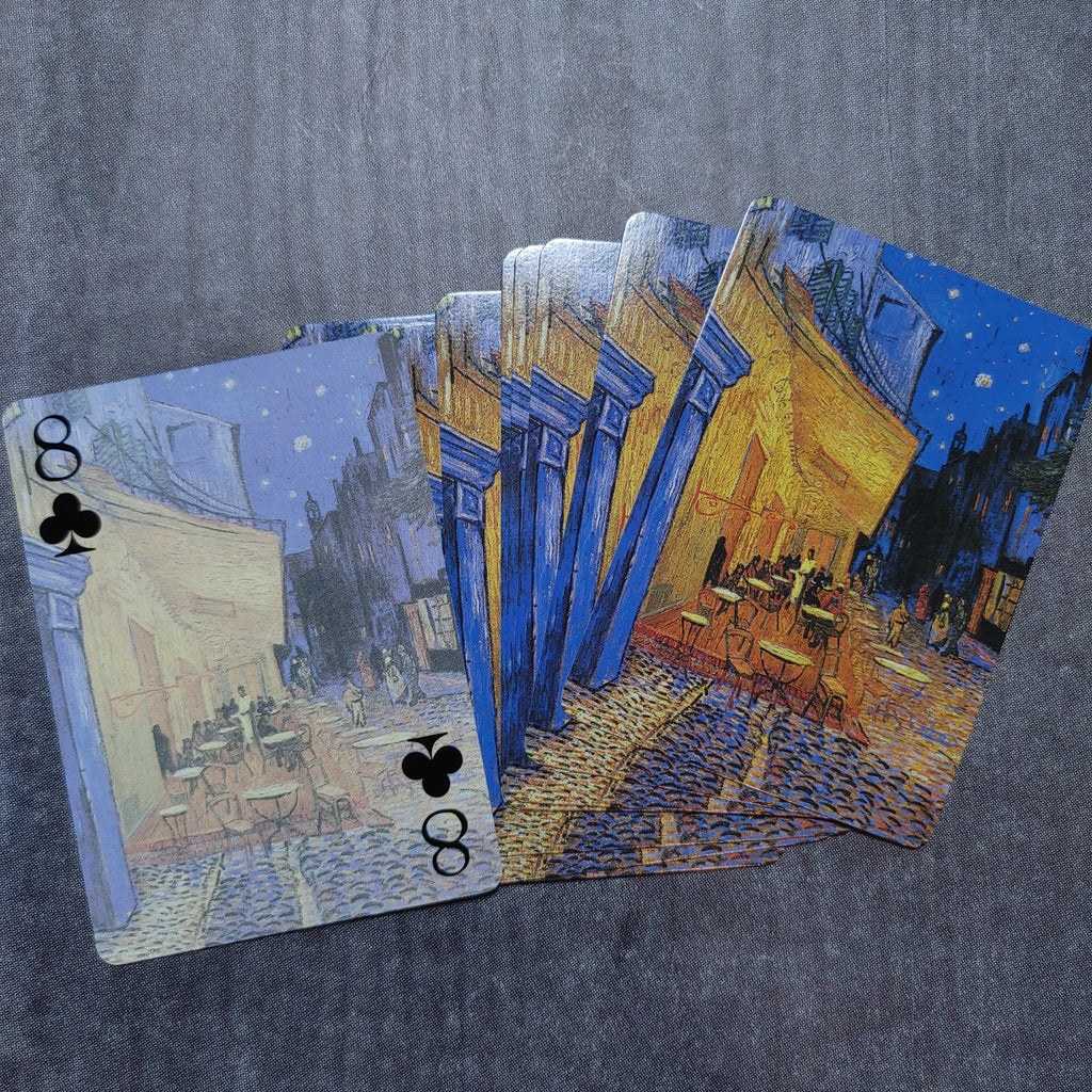 Van Gogh Cafe Playing Cards - LZ