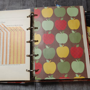 Cookbook Ring Bound Junk Journal by Maria Gonzales