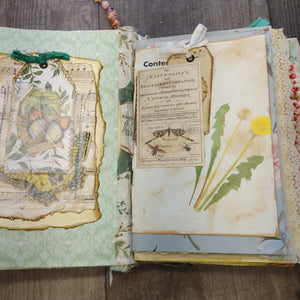 Nature Calling Junk Journal by Sandy Loar
