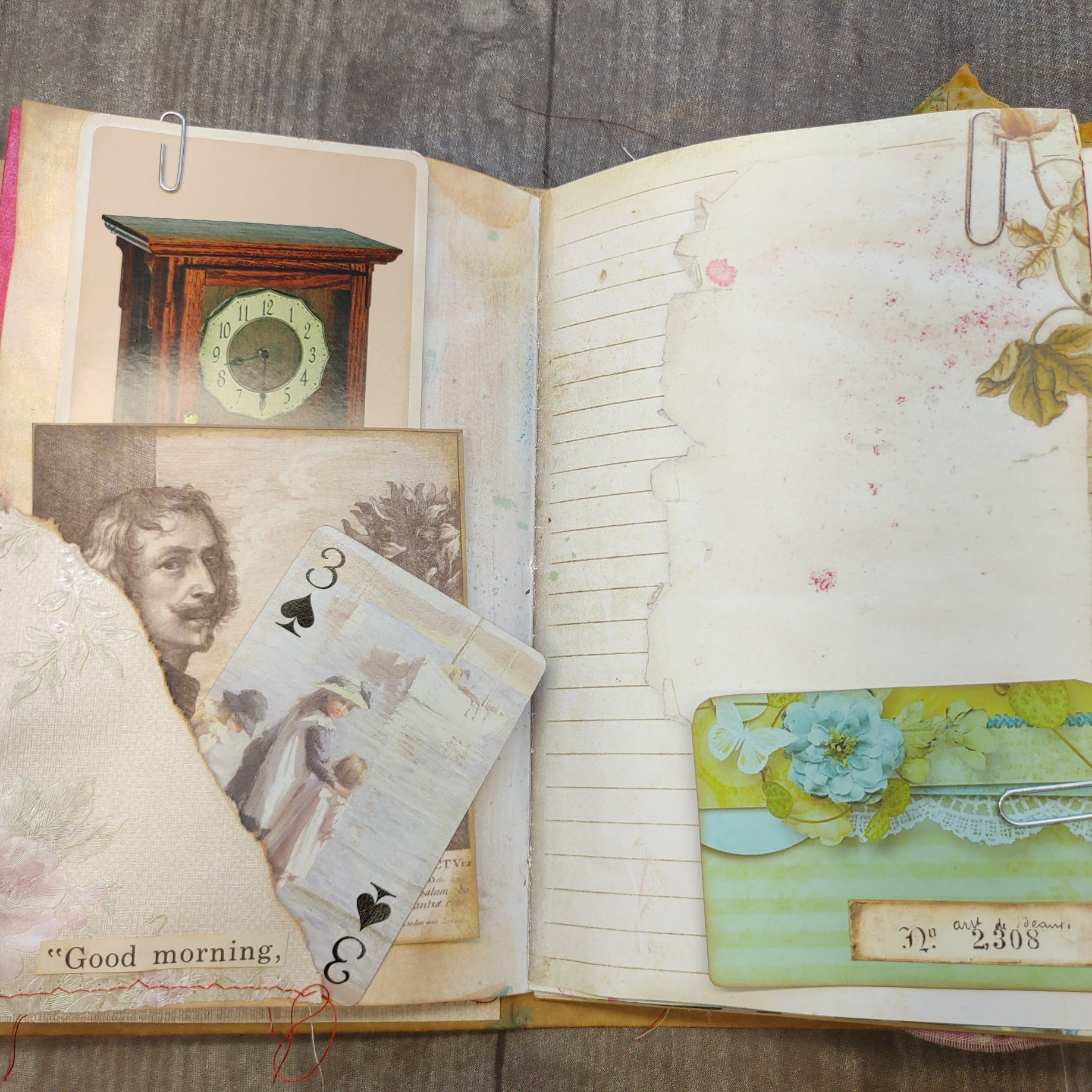 Our Memories Junk Journal - LZ