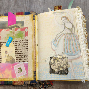 Bohemian Junk Journal by Camelia Carrero