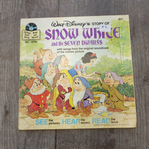 Snow White Book with Record- LZ